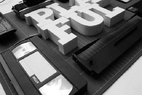 [转载]国外创意3d文字设计欣赏