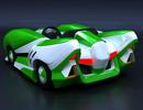 3ds Max制作绿色风格的跑跑卡丁车
