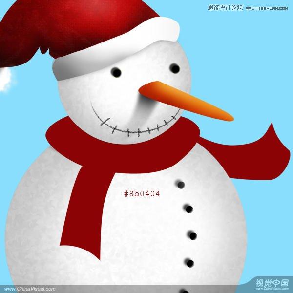 photoshop制作可爱的雪人动画教程