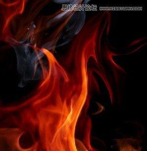 photoshop合成超酷的魔法火焰美少女战士