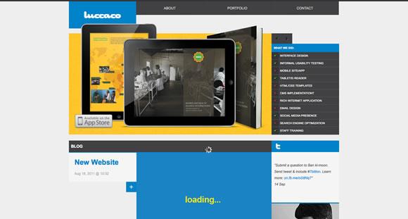 网页中使用截屏的网页设计实例