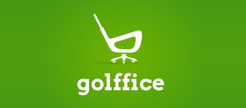 高尔夫行业logo设计欣赏,ps教程,思缘教程网