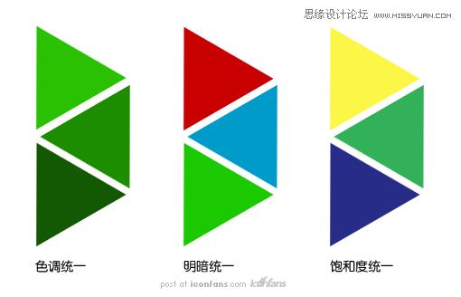 解析網站配色中的色彩層次