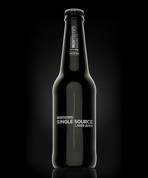 漂亮的创意啤酒瓶包装设计欣赏