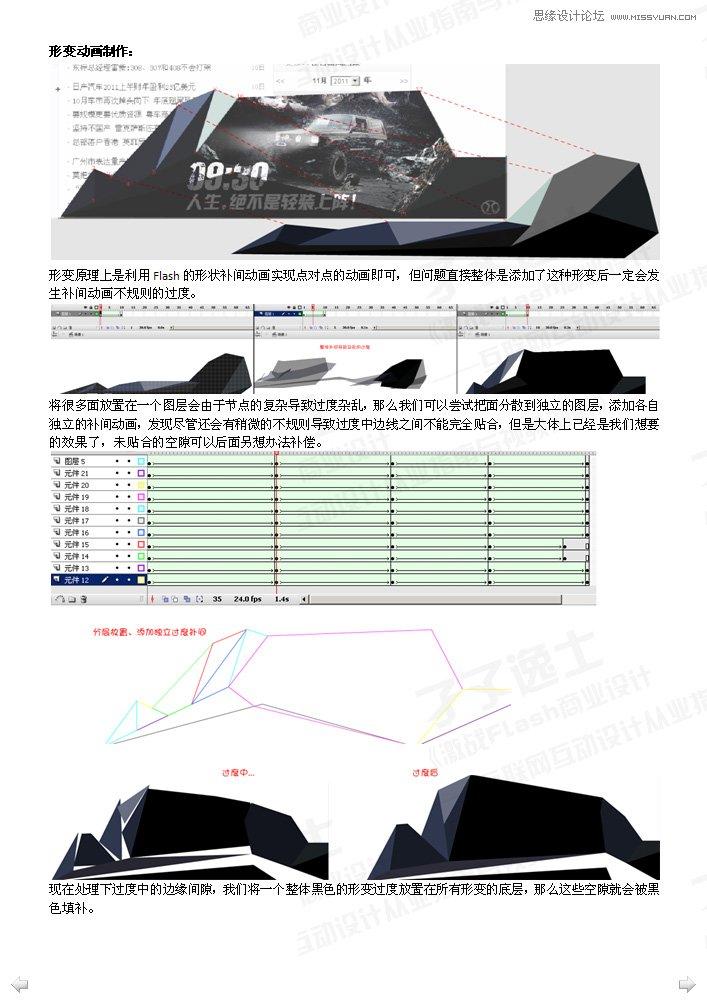 flash制作画面流畅的汽车广告(2)