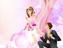 AI软件(Illustrator)绘制浪漫时尚的情人节插画场景