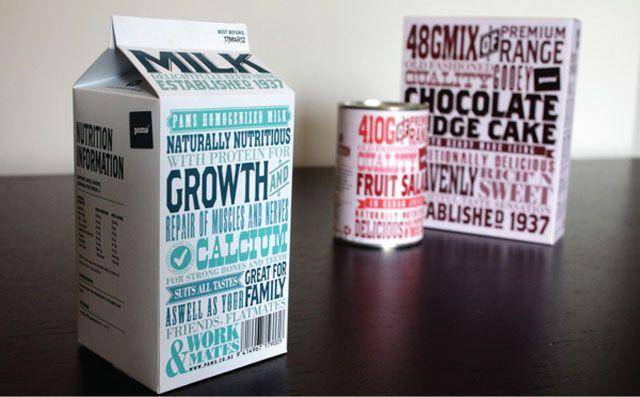 精选国外创意的牛奶包装设计欣赏