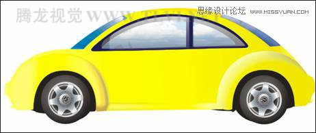 用coreldraw设计大众汽车宣传海报教程_软件自学网