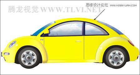 用coreldraw设计大众汽车宣传海报教程
