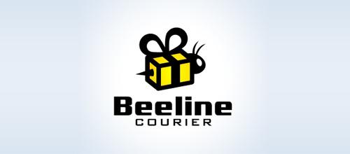 以蜜蜂为设计元素的标志设计欣赏