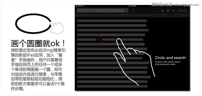 谈手势操作在软件端手机应用中的设计-平面理写字班广告设计图片