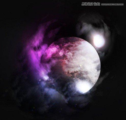 Photoshop绘制一幅逼真的星云图效果,PS教程,思缘教程网