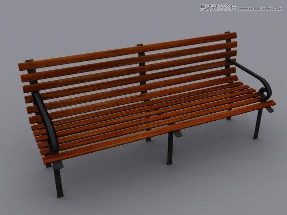 ps公园椅子素材