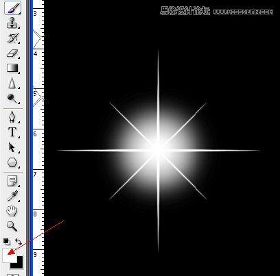 出星星发光的特性