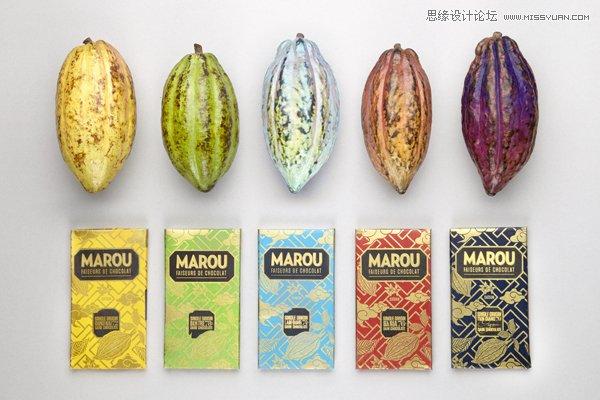 精选国外marou巧克力包装设计欣赏