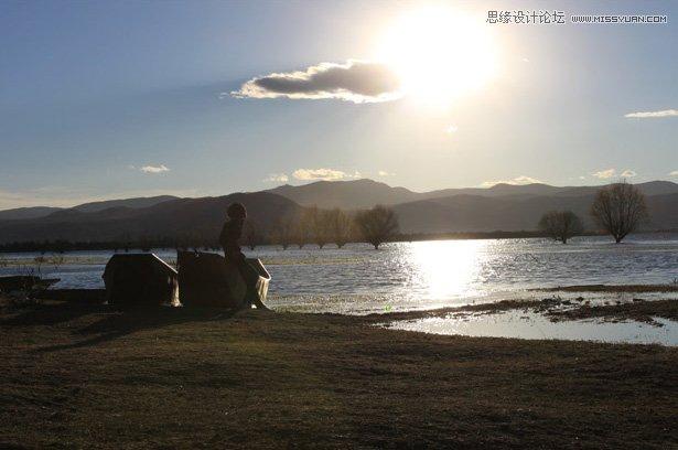 photoshop调出夕阳风景照艺术效果教程 - 专业的教程