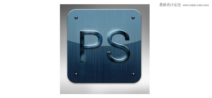 Photoshop制作手机UI设计中的PS软件图标 - 转