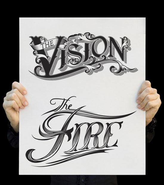 50个精美的英文字体设计欣赏(2)