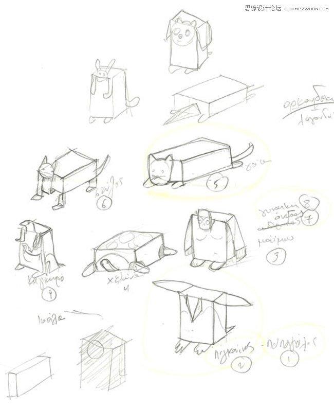 解析stafidenios的折纸式包装心得