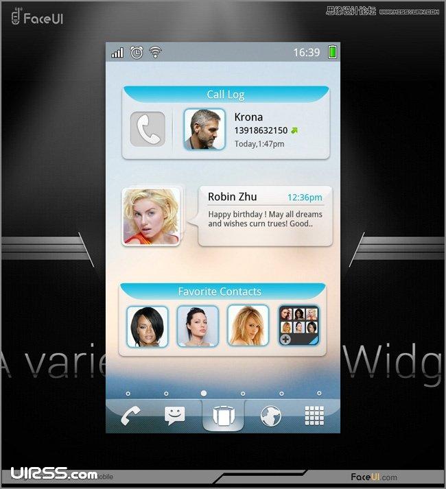 解析手機系統與App應用的UI設計欣賞