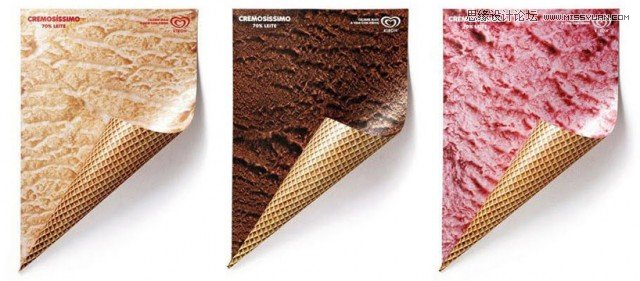 kibon冰淇淋创意海报设计欣赏