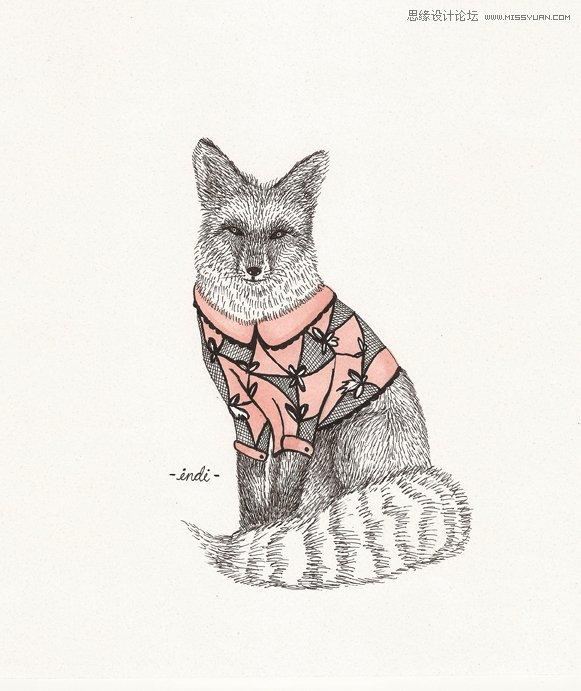 maverick可爱动物插画设计欣赏