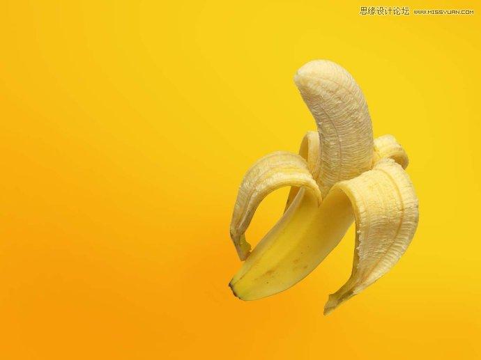 回顾一下香蕉制作过程如下