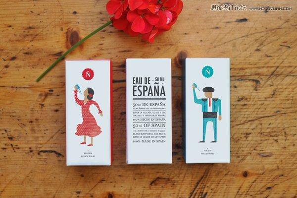 西班牙设计师香水包装设计欣赏
