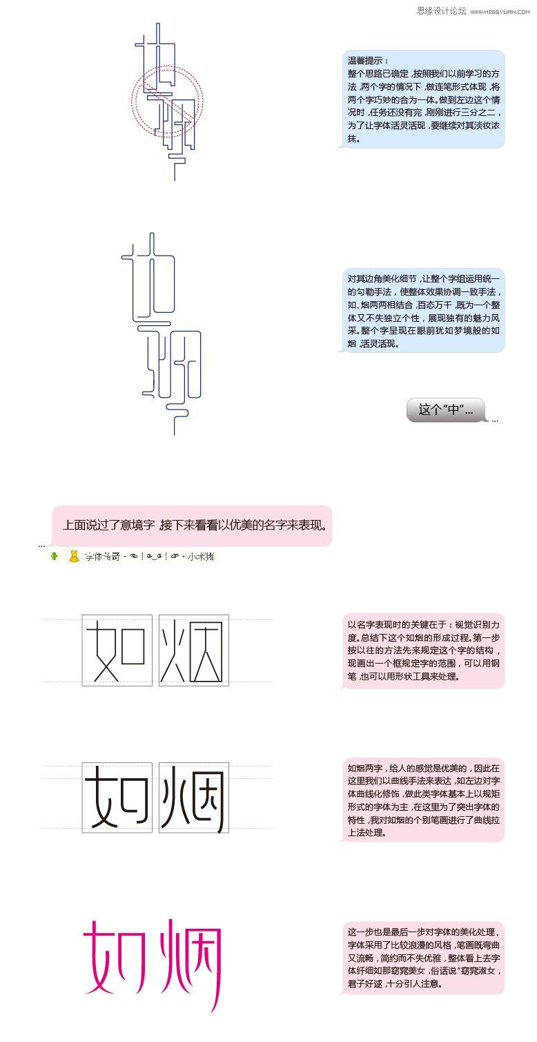 字體傳奇12月字體設計總結過程