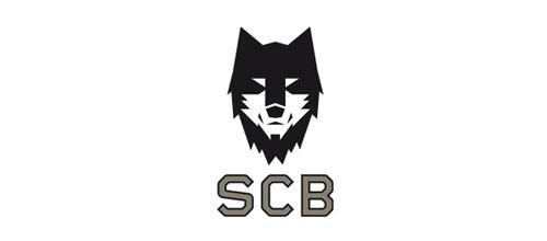 以动物狼为设计元素的标志设计欣赏