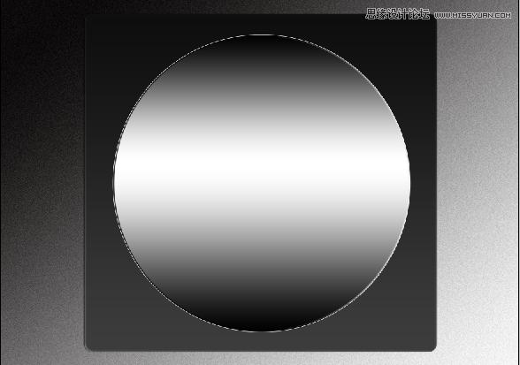 Photoshop转载风箱质感的金属指南针-绘制教圆形v风箱混图片