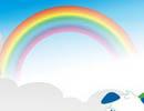 CorelDraw交互式调和工具打造卡通彩虹