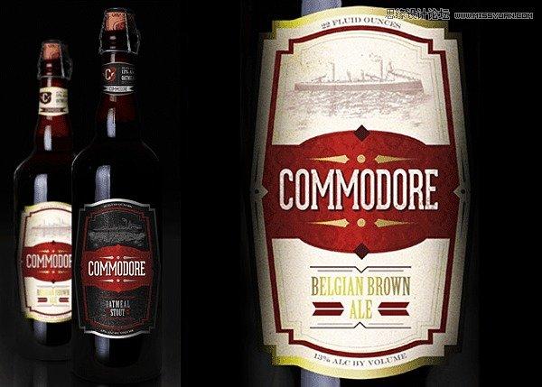 精选国外复古风格的酒类包装设计欣赏
