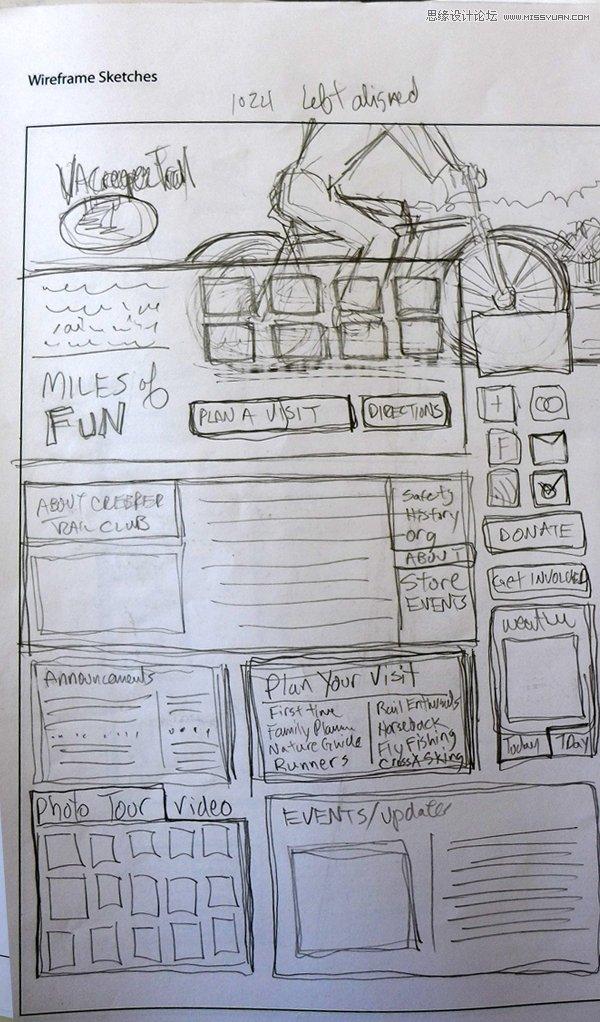 [ 平面理论教程 ] 让高手教你如何规划网页设计草图—- 其他教程图片