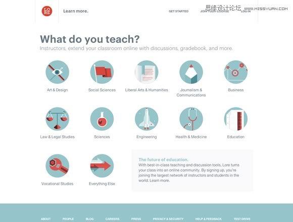 22个美观实用的网站设计欣赏,PS教程,思缘教程网
