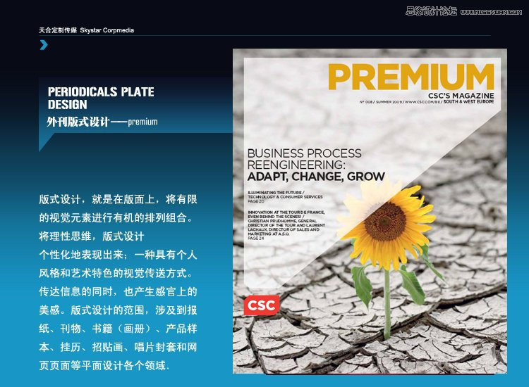 浅谈平面设计的外刊版式设计分析图片