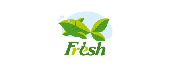 精选国外以鱼为设计元素的标志设计欣赏