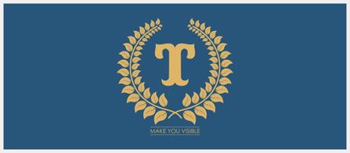 对称logo设计灵感和创意标志设计