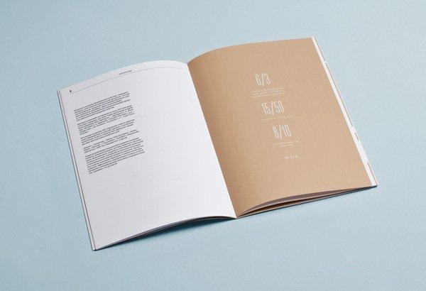 精选国外简洁大气的画册板式设计欣赏,ps教程,思缘教程网