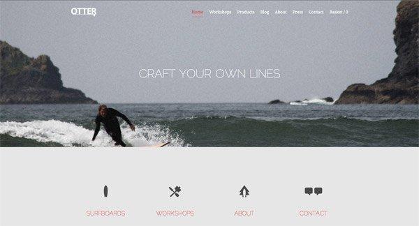 30个使用美丽景观照片的网页背景设计,PS教程,思缘教程网