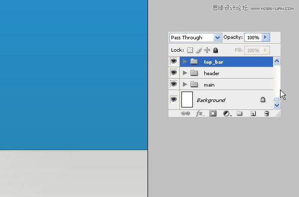 选中蓝色的头部区域.在它上面创建一个新层并设置其混合样式为 叠加.