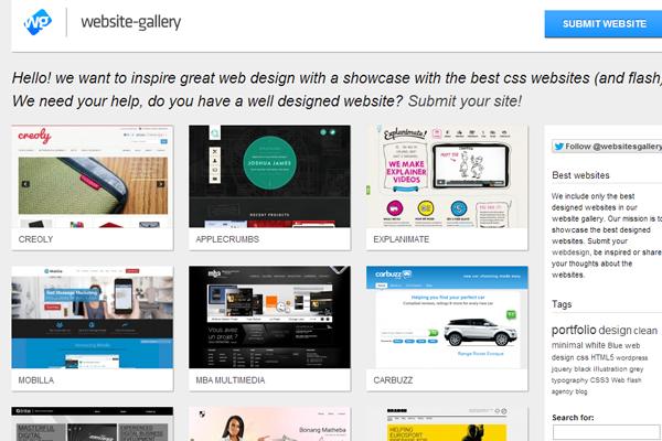 收录国外顶尖的酷站精选网站设计欣赏-设计欣设计构成线