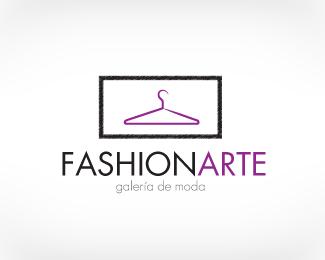 以衣架为设计元素的logo设计欣赏图片