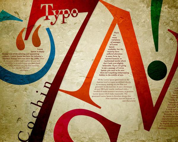 精選國外創意海報中的字體設計欣賞