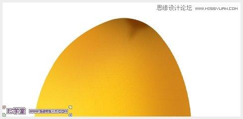 photoshop绘制立体逼真的金色芒果教程