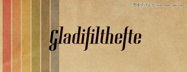 25款国外复古效果的英文字体打包下载(免费) - ps素材