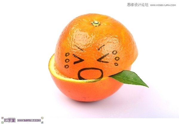 水果添加可爱表情