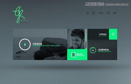 精选国外设计排版优秀的html5网站欣赏