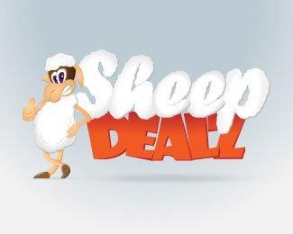 0个可爱善良的羊LOGO设计欣赏图片