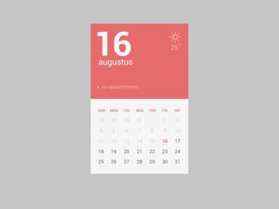 精选国外一组简洁风格的日历设计欣赏